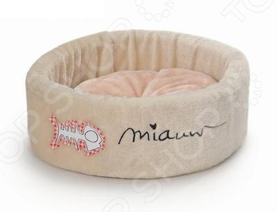 Лежанка для кошек Beeztees 705256 Miauw комплекс для кошек угловой с полками лестницей и канатом beeztees 405770