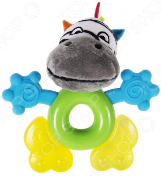Погремушка-прорезыватель Happy Snail «Фру-Фру» игрушка погремушка happy snail фру фру 17hst06fr