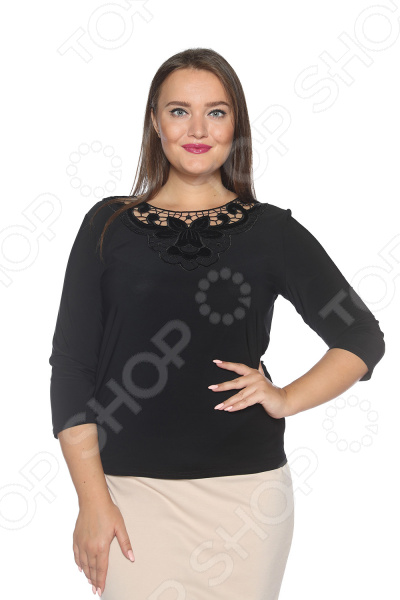 Блуза Pretty Woman «Бархатная мечта». Цвет: черный miu miu бархатная куртка