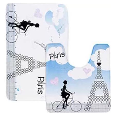 Купить Набор ковриков для ванной Tatkraft Paris Mademoiselle