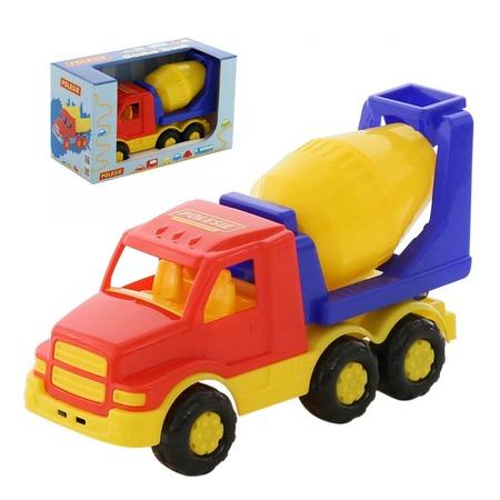 Купить Машинка игрушечная POLESIE «Гоша. Бетоновоз». В ассортименте