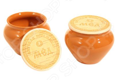 Набор горшочков для меда Вятская керамика