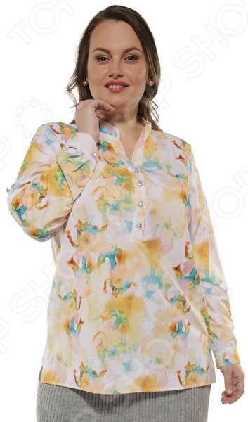 Рубашка Blagof «Леся» с принтом