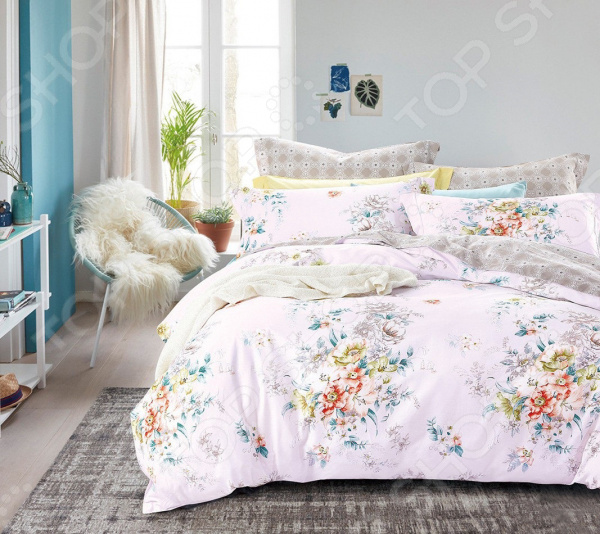Комплект постельного белья Cleo 022-SR cleo 31 022 bl