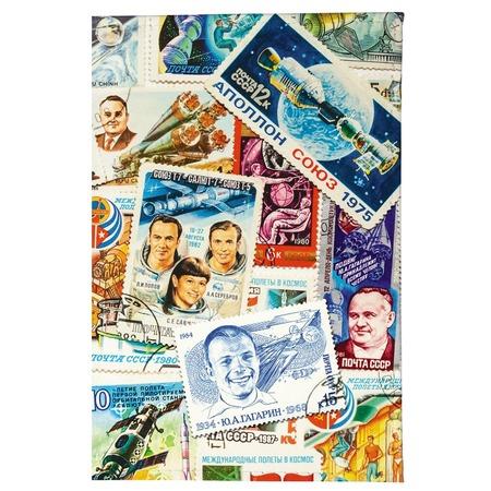Купить Обложка для паспорта Mitya Veselkov «Космос (марки)»