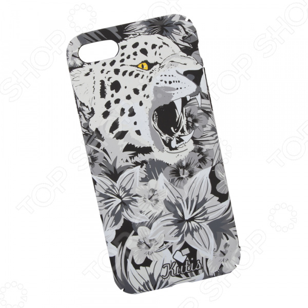 лучшая цена Чехол для iPhone 7/8 KUtiS Monochrome AK-4 «Гепард»
