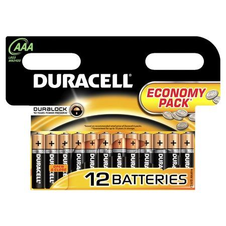 Набор батареек Duracell Basic LR03-12BL