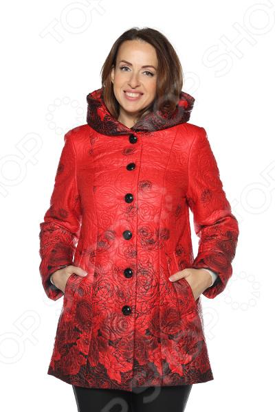 Куртка Pit.Gakoff «Теплое дыхание». Цвет: красный