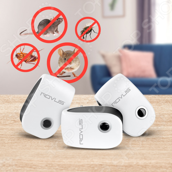 Отпугиватель насекомых и грызунов Rovus MI-H20-1006