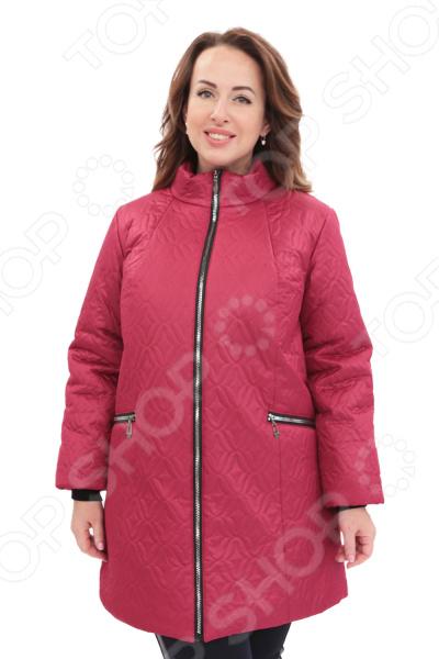 Куртка Гранд Гром «Бесценная женщина». Цвет: малиновый калинина н малиновый запах надежды
