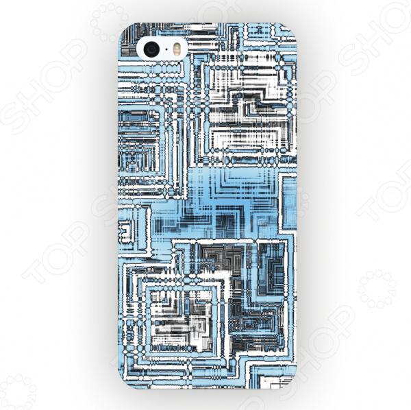 Чехол для iPhone 5 Mitya Veselkov «Микросхема Светлая» микросхема risym l297d sop20