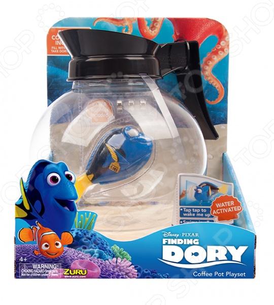 Игрушка интерактивная Zuru RoboFish «Дори и аквариум-кофейник»