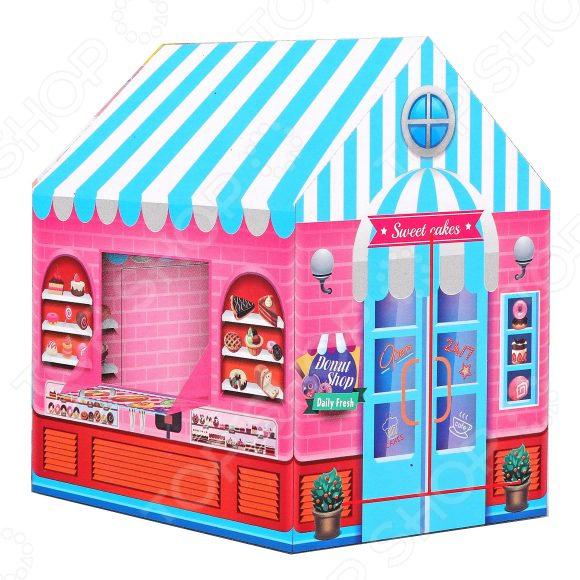 Палатка игровая Наша Игрушка «Домик» игрушки для улицы игровая палатка с мячиками 100 шт calida вилла 85х85х110см