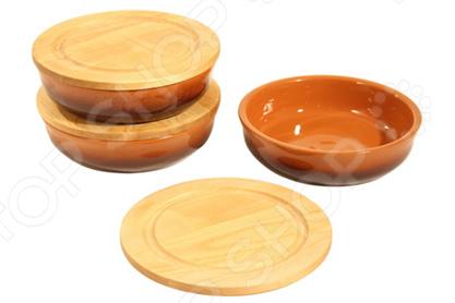 Набор мисок Вятская керамика