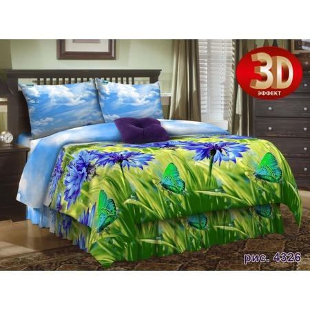 Купить Комплект постельного белья Диана «Васильки» 4326. 2-спальный