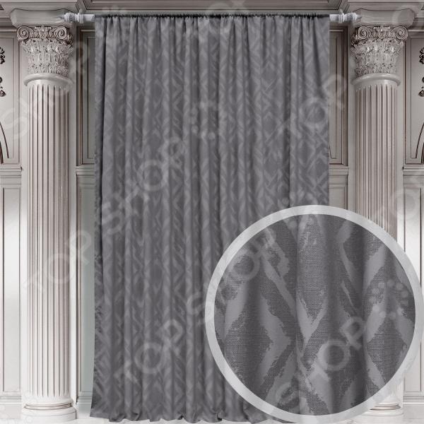 Портьера Amore Mio Zeli выразительная деталь для оформления ваших окон. Этим изделием вы обеспечите интерьеру не только защиту от прямых солнечных лучей, но и избавитесь от постороннего шума. Красивая штора преобразит ваш дом:  вы сможете обновить поднадоевший стиль любой комнаты;  дизайн сделает помещение более современным;  комплект создаст уютную и привлекательную атмосферу. Эта модель станет ярким акцентом помещения или же исполнит роль нежного фона, на котором хорошо будут выделяться другие предметы интерьера. Изюминка интерьера Чтобы превратить ваш дом в уютное гнездышко вам нужны не только красивые, но и практичные в обиходе вещи. Ткань портьеры выполнена из 100 полиэстера с имитацией натурального жаккардового льна:  изделие мягко ниспадает волнами, которые превосходно обрамляют окна;  материал препятствует проникновению пыли и шума с улиц;  элегантный дизайн смотрится очень стильно;  насыщенный цвет украсит и оживит комнату.  Дизайнерское решение для окон Идеальная композиция окна зависит от многих критериев, в число которых входят и портьеры.  Оригинальный узор, который не будет противоречить стилю комнаты.  Оформление материала выглядит свежо и неординарно.  Штора легко крепится на шторную ленту. Абстрактный рисунок выгодно подчеркнет современный стиль хай-тек в вашем интерьере. Не упустите свой шанс блеснуть хорошим вкусом и украсить свой дом с помощью этой продукции.