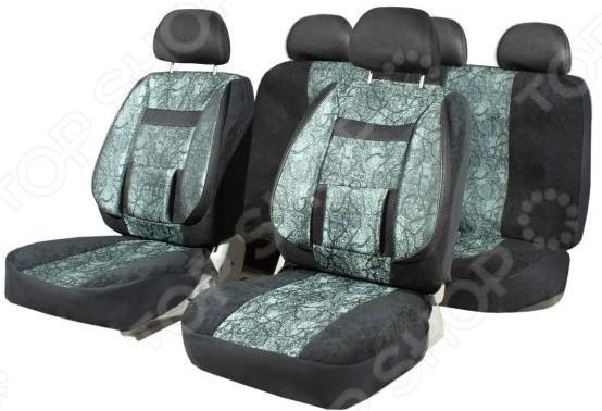 Набор чехлов для сидений SKYWAY Protect 2 SW-C5000/S01301036 универсальные чехлы на авто