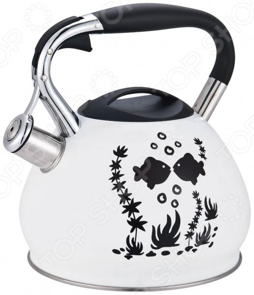 Чайник со свистком и терморисунком Mercury Haus MC-6536 цена и фото