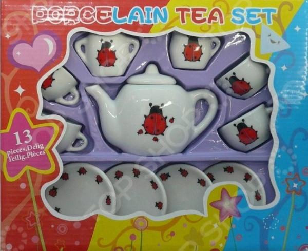 Набор посуды игрушечный 1 Toy «Божьи Коровки» корзина для игрушек божьи коровки