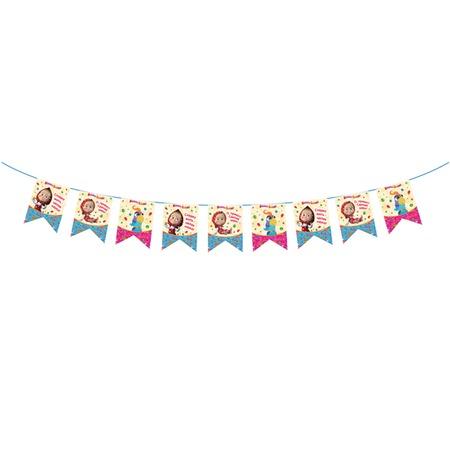 Купить Гирлянда из флажков Росмэн 28305 «Машины сказки. С днем рождения!»