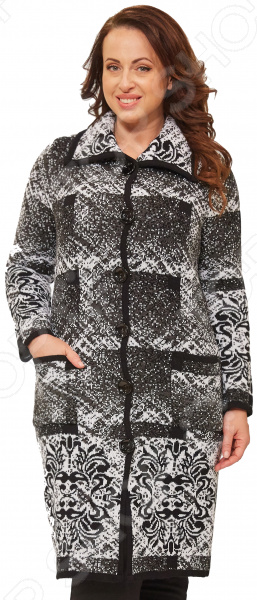 Пальто Milana Style «Маврина». Цвет: серый