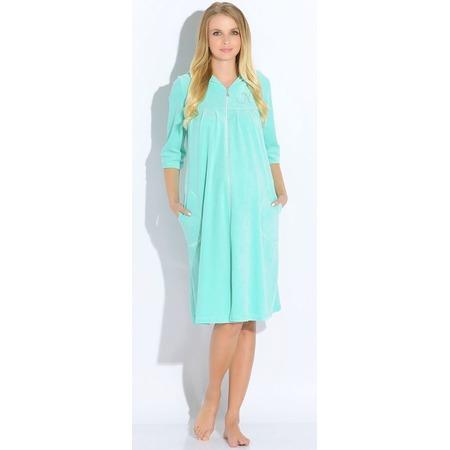 Купить Халат для беременных Nuova Vita 303.23 M.bella. Цвет: мятный