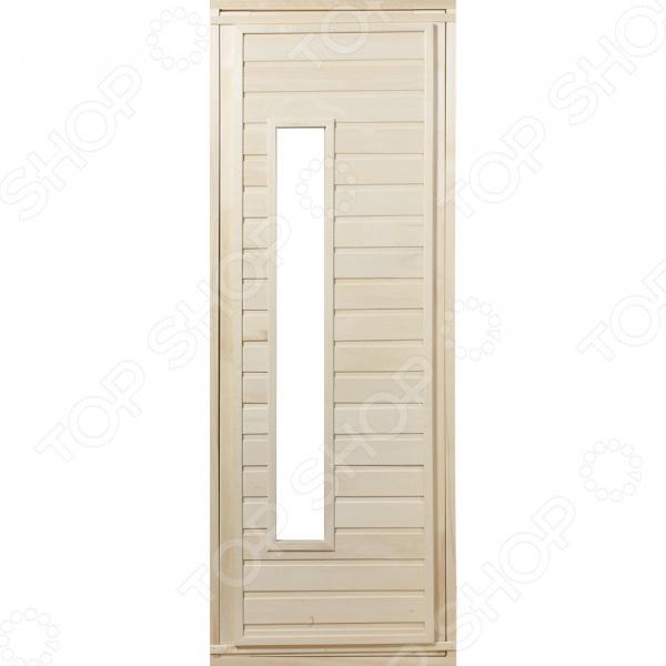 Дверь со стеклом Банные штучки 03322