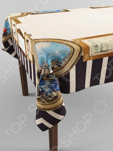 Фотоскатерть Сирень «Картины в рамках» картины сирень картина ароматный букет