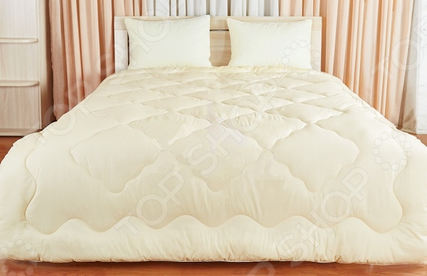 Одеяло Подушкино «Лежебока». Цвет: кремовый лежебока одеяло всесезонное taylak