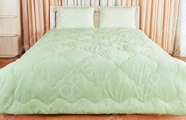 Одеяло Подушкино «Лежебока». Цвет: салатовый лежебока одеяло всесезонное taylak