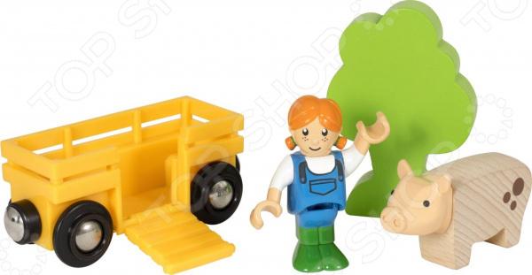 Игровой набор Brio «Девочка на ферме»