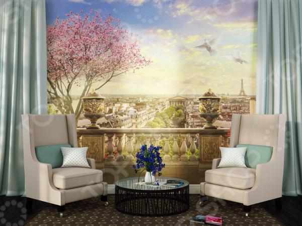 Фотообои ТамиТекс «Панорама Парижа»
