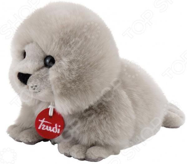 Мягкая игрушка Trudi «Тюлень-пушистик» мягкие игрушки trudi белый тюлень 58 см