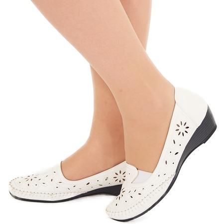 Купить Туфли EGO «Бланка». Цвет: белый