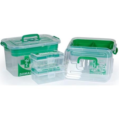 Купить Набор контейнеров для хранения Полимербыт SGHPBKP9 «Домашний Доктор»