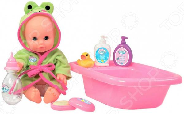 Набор с пупсом Toys Lab Play Baby «Купание»