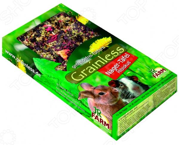 Лакомство для грызунов JR Farm Grainless Nager Tafel Hibiskus