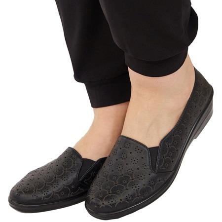 Купить Туфли АЛМИ «Дорилея». Цвет: черный