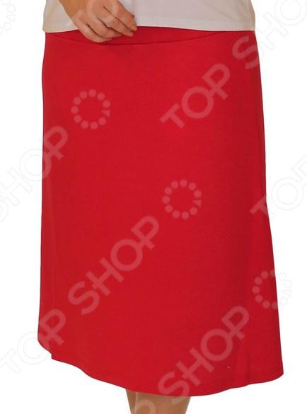 Юбка Матекс «Ария». Цвет: красный