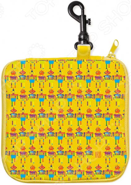 Термобутербродница IRIS Barcelona СнэкРико «Роботы» 16х16 см