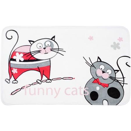 Купить Коврик для ванной Tatkraft Funny Cats