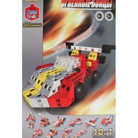 Купить Конструктор игровой Знаток Artec «Огненные бойцы»