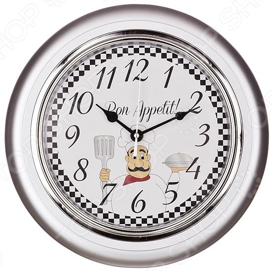 Часы настенные Lefard Chef kitchen 220-157 random chef print kitchen mat 1pc