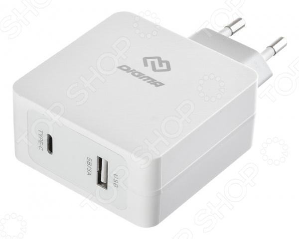Устройство зарядное сетевое Digma DGPD-45W-WG
