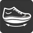 Кроссовки адаптивные женские Walkmaxx Wedge. Цвет: коричневый 8