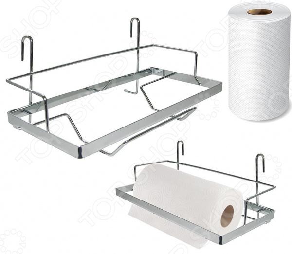 Полка для бумажных полотенец навесная на рейлинг Мультидом AN52-129. В ассортименте netac 60gb