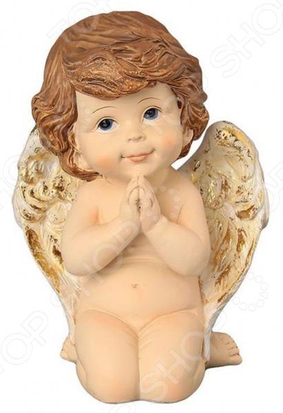 Фигурка декоративная Elan Gallery «Задумчивый ангелочек» фигурки elan gallery фигурка декоративная белка артистка