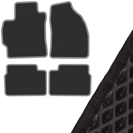 Купить Комплект из 4-х ковриков в салон автомобиля с левым рулем SKYWAY Toyota Corolla (2006-2013)