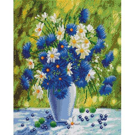 Купить Набор для творчества Color Kit «Алмазная мозаика». Рисунок: «Васильковое лето»