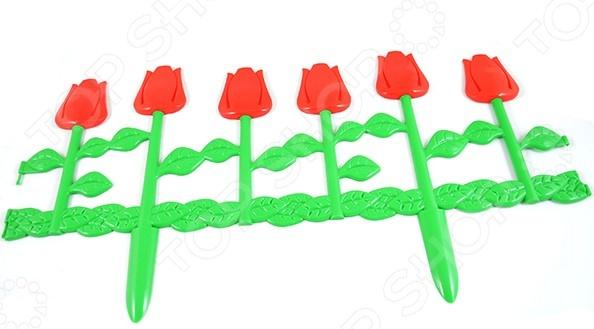 Забор декоративный «Цветник» недорогой забор из профлиста под ключ